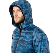 Enhance Insulation Quilting Jacket 8.7 - Blue Storm Print