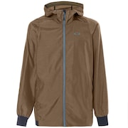 Enhance Emboss Wind Jacket 8.7 - Canteen