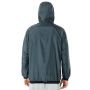 Enhance Emboss Wind Jacket 8.7 - Dark Slate