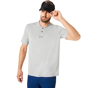 Polo Short Sleeve Bomber Collar