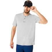 Polo Short Sleeve Bomber Collar