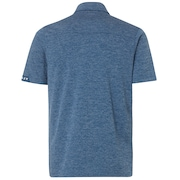 Aero Ellipse Polo - Ensign Blue Light Heather