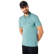 Polo Shirt Short Sleeve Ribbed Detailong Sleeve - Ore
