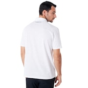 Polo Shirt Short Sleeve Perforated - White