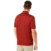 Polo Shirt Short Sleeve Perforated - Iron Red