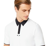 Icon Golf Polo - White