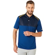 Polo Shirt Short Sleeve Color Block