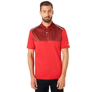 Polo Shirt Short Sleeve Color Block