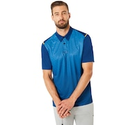 Polo Shirt Short Sleeve Striped Ellipse