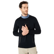 Cycling Collar Utility Long Sleeve Tee