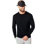 Crew Neck Knit - Blackout