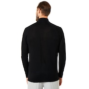 Half Zip Golf Engineered Knit - Blackout