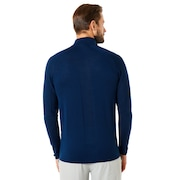 Half Zip Golf Engineered Knit - Ensign Blue