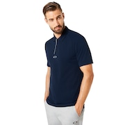 Polo Piping Short Sleeve - Fathom