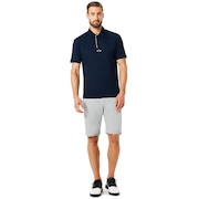 Polo Piping Short Sleeve - Fathom