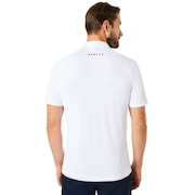 Polo Piping Short Sleeve - White