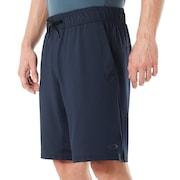 Richter Knit Shorts - Fathom