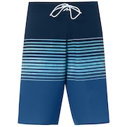 21 Inches Camou Boardshort - Ensign Blue