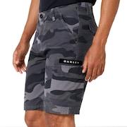 Cargo Icon Short Pants - Gray Camo