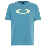 O-Bold Ellipse - Blue Coral Heather