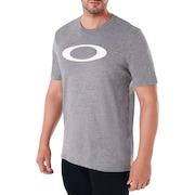 O-Bold Ellipse - Athletic Heather Gray