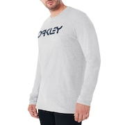 Mark II L/S Tee - Granite Heather