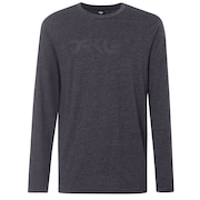 Mark II L/S Tee - Jet Black Heather