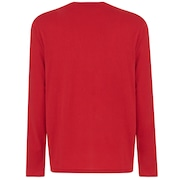 Mark II L/S Tee - Samba Red