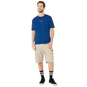 B1B Flag Short Sleeve - Dark Blue