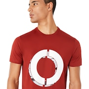O Camou Short Sleeve - Iron Red