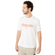 Plutonite Short Sleeve - White