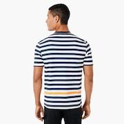 Classic Stripe Short Sleeve - Fathom