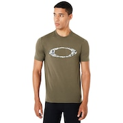 Ellipse Digital Short Sleeve - Dark Brush