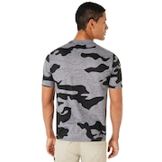 Camou Half Fewer Short Sleeve - Athletic Heather Gray