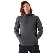 Hooded Scuba Fleece - Forged Iron