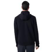 Hooded Scuba Fleece - Blackout