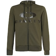 Bark Fz Hoodie - Dark Brush