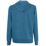 Ellipse Fz Hoodie - Blue Coral Heather