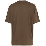 Qd18 Veil Short Sleeve Long Tee - Canteen