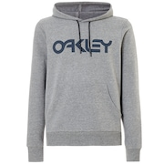 B1B Po Hoodie - Athletic Heather Gray