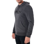 B1B Po Hoodie - Blackout Light Heather