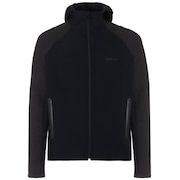 Utility Knit Fz Jacket - Blackout