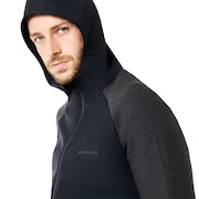 Utility Knit Fz Jacket - Blackout