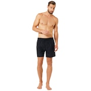 16 Inches Solid Boardshort - Blackout