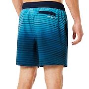 16 Inches Camou Boardshort - Dark Blue