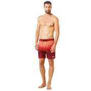 16 Inches Camou Boardshort - Iron Red