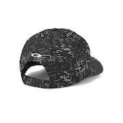 Skull Graphic Cap - Black Print