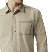 Rsqd18 Shell Long Sleeve Shirts - Rye