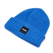 Beanie Ribbed - Electric Blue