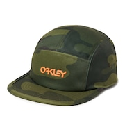 5 Panel Cotton Camou Hat - Core Camo